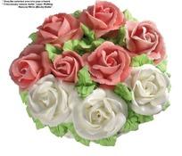 红白玫瑰蛋糕(带PSD Mask抠图遮罩)