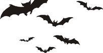 黑蝙蝠图案