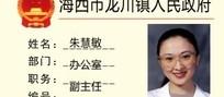 龙川镇人民政府工作证