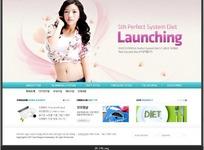 女性减肥网站网页设计