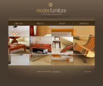 modex家私网页模板
