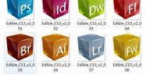 设计软件电脑图标PSD模板