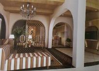 古典欧式客厅设计3D素材