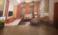 简约现代客厅设计3D素材