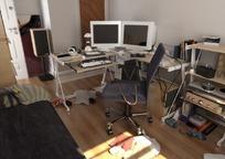 照片集工作空间特写3dmax模型