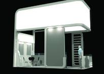 简约产品展厅设计模型3D素材
