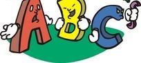 ABC卡通字母