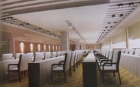 高雅大型会议室3D模板效果图