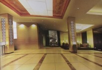 酒店大堂3D效果图(侧面图)