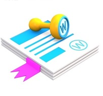 立体摞放的公司文件和图章网页图标素材