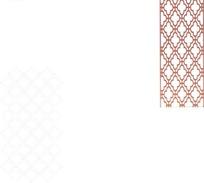 十字菱形镂空中式窗格图案