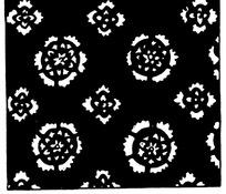 黑白重复古典花纹矢量图案