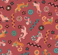 鳄鱼猴子牛狸猫