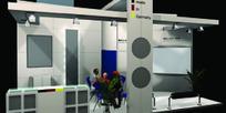 个性展柜3D模型设计