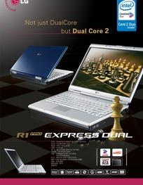 LG笔记本电脑宣传海报