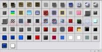 62个玻璃按钮纹理渐变图层样式下载