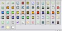 63个漂亮格纹按钮发光图层样式下载