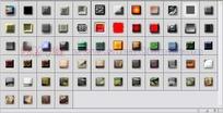 64个纹理叠加浮雕发光图层样式下载