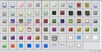 70个漂亮格纹按钮图像图层样式下载
