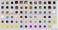 71个叠加/浮雕/投影/描边图层样式下载