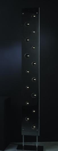 不锈钢拉丝落地灯具3d模型 max