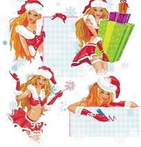 精品圣诞女孩