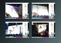 4款户外大屏幕主题房地产海报