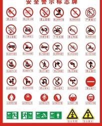 安全警示标示牌警示牌