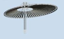 现代伞造型城市雕塑设计3D模型