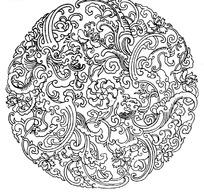 中国古典矢量花纹矢量素材