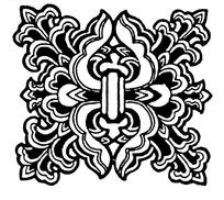 传统古典矢量花纹花边素材