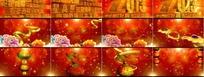 2013蛇年春节晚会片头视频素材(37秒高清)