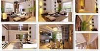 别墅跃层室内设计模型
