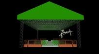 啤酒广场舞台舞美设计效果图