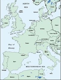 部分地图矢量素材
