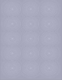手绘漩涡水纹填充图案