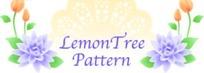 精美蓝色橘色花朵绿叶花纹卡片设计