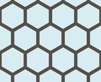底纹—深灰色六边形构成的蜂窝图案