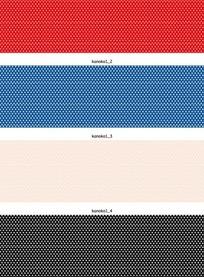 矢量花纹背景四款古典的网孔网点