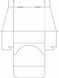 异形包装盒-刀模