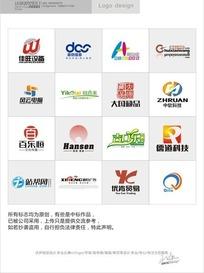 各种科技网站标志合集-佳旺设备 风云电脑
