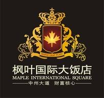 枫叶国际大饭店标志