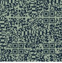浅绿色背景上的蓝色方框和矩形