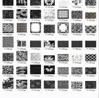 底纹合辑—漂亮的植物和重复图案