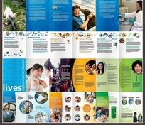 画册设计—包含儿童和外国人的画册