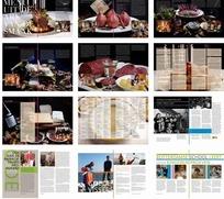 宣传册设计—包含美食的宣传册