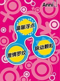 Anni避孕套的宣传海报