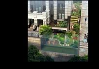 入户花园景观建筑效果图