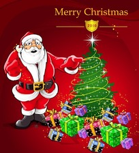 圣诞卡通海报