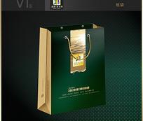 房地产纸袋VI素材
